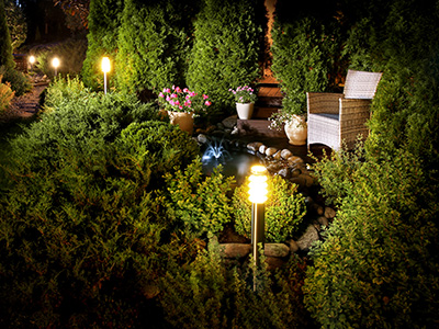 Outdoor Lighting Design Santa Clara, CA
